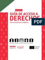 Guía de Acceso a Derechos
