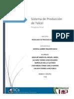 Proyecto de Modelado de Procesos de Negocios -Telcel