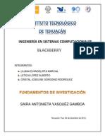 Blackberrys Crito