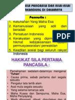 Part 9 Dan 10 (Hakikat Sila-Sila Pancasila Dan Nilai2nya)