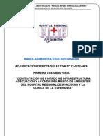 ADS N° 21-2012 PINTADO DE INFRAESTRUCTURA