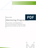 Mentoring-Studie Mentus Kurz