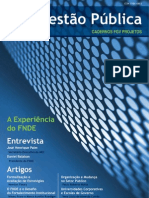 Cadernos FGV Projetos nº 6 - Gestão Pública
