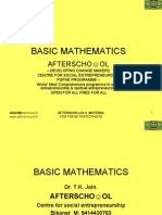 Basic Mathematics 1