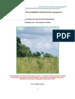 Plan de Manejo de La Codorniz Yucateca (Colinus nigrogularis)