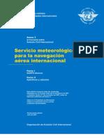 Anexo 3 Servicio Meteorologico Para La Navegacion Aerea Internacional