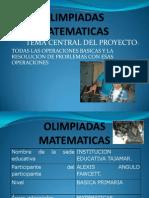 8.OLIMPIADAS MATEMATICAS 1