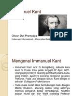 Presentasi Immanuel Kant