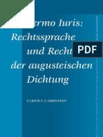 Sermo Iuris- Rechtssprache und recht in der augustischen