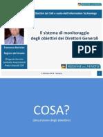 02 - Francesco Bortolan - Il sistema di monitoraggio degli obiettivi dei Direttori Generali