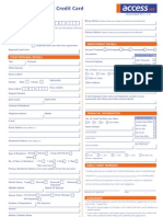 Visa International Application Form