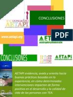 Conclusiones Congreso AETAPI 2012