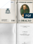 A Oracao St Afonso Ligorio