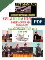 Dartmouth Mall Pe Poster 2012