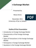 Foreign Exchange Market - Nov 2011