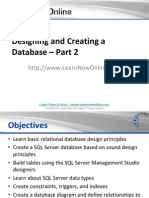 Designing and Creating a Database