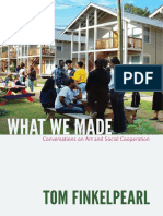 What We Made by Tom Finkelpearl