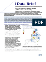Geographic Co-occurrence of HIV/AIDS, Viral Hepatitis, Sexually Transmitted Diseases and Tuberculosis in New York City