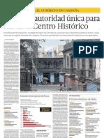Urge una autoridad única para salvar el Centro Histórico