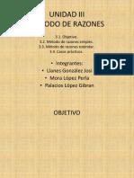 Finanzas 2 y 3  MÉTODO DE RAZONES