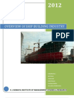 Overview of Ship Building Industry