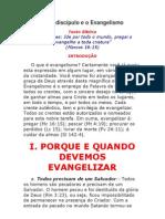 Lição 13 - O discípulo e o Evangelismo