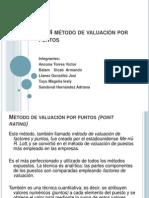 Gestion Talento Hum  2.5.4 método de valuación por puntos