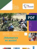 Brochure de Logros Del Proyecto Soy Voluntari@