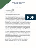 Bipartisan Defense Savings Letter 12-10-12
