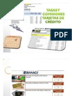 Tarjetas Crédito Banco BANACI