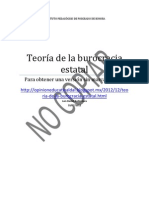 Teoria de La Burocracia Estatal 10-12-12