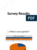Survey Results PowerPoint