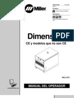 Manual de Usuario de Miller 652 y 812 o278ad_spa