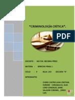TRABAJO  DE CRIMINOLOGÍA CRÍTICA