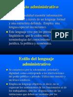 El Texto Administrativo