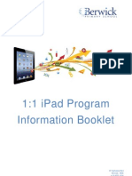 iPad Program Booklet