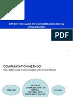 8 Effective Classroom Communication & Management
