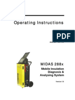Instructions Manual MIDAS 288x