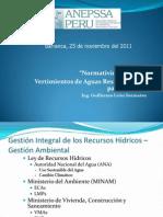 Normatividad Vigente- Vertimientos de Aguas Residuales Por Parte de EPS - Barranca 251111