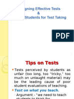 13 Designing Effective Tests