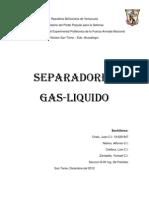 Separadores Liquido Gas