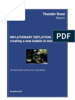 Inflationary Deflation Thunder Road Report December 2012
