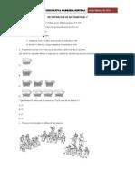 Prueba de Matematicas 7