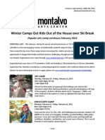 Montalvo Winter Camps Get Kids out of the House