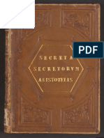 Alessandro Achillini - Secreta Secretorum Aristotelis