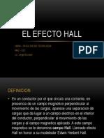 El Efecto Hall