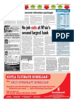 TheSun 2009-02-04 Page16 RM10bil Likely for Second Stimulus Package