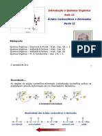Aula 21 - Acidos Carboxilicos e Derivados II