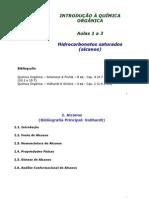 Aulas 1 e 2- Alcanos