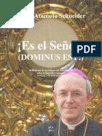 Mons. Atanasio Schneider - ¡Es el Señor! Reflexiones sobre la Sagrada Comunión